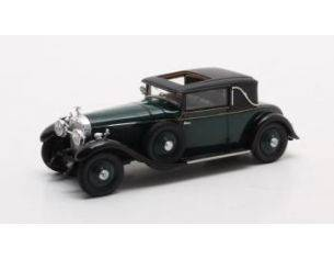 Matrix MX50806-041 HISPANO-SUIZA H6B PARK WARD COUPE N.11608 1927 GREEN 1:43 Modellino