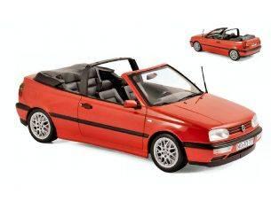 Norev NV188433 VW GOLF CABRIOLET 1995 RED 1:18 Modellino