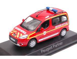 Norev NV479818 PEUGEOT PARTNER 2010 SECOURS MEDICAL 1:43 Modellino