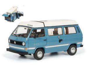 Schuco SH0387 VW T3A JOKER 1979 LIGHT BLUE 1:18 Modellino