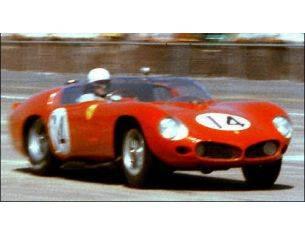 Looksmart LSLM047 FERRARI TR 61 N.14 WINNER 12 H SEBRING 1961 P.HILL-O.GENDEBIEN 1:43 Modellino