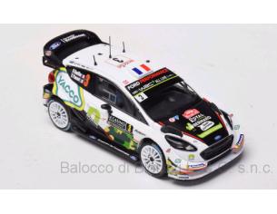 Ixo model RAM666 FORD FIESTA WRC N.3 8thMONTE CARLO 2018  B.BOUFFIER-X.PANSERI 1:43 Modellino