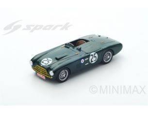 Spark Model S2423 ASTON MARTIN DB3 SPYDER N.25 ACCIDENT LM 1952 L.MACKLIN-P.COLLINS 1:43 Modellino