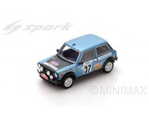 Spark Model S3640 A 112 N.37 24th MONTE CARLO 1977 Michèle Mouton-Françoise Conconi 1:43 Modellino