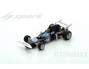 Spark Model S5364 MARCH 721 H.PESCAROLO 1972 N.23 8th ARGENTINIAN GP 1:43 Modellino