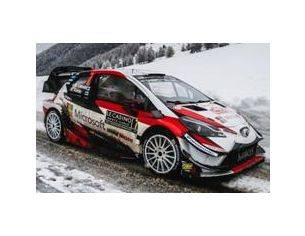 Spark Model S5957 TOYOTA YARIS WRC N.7 3rd MONTE CARLO 2018 J.M.LATVALA-M.ANTTILA 1:43 Modellino
