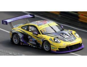 Spark Model SA142 PORSCHE 911 GT3R (991) N.77 FIA GT WORLD CUP MACAU 2017 H.YOSHIMOTO 1:43 Modellino