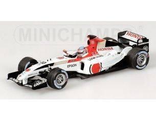 Minichamps PM400040110 BAR F 1 T.SATO 2004 1:43 Modellino