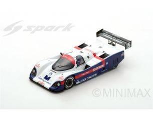 Spark Model SJ045 PORSCHE 962C N.15 3rd WEC IN JAPAN 1987 M.BALDI-M.THACKWELL 1:43 Modellino