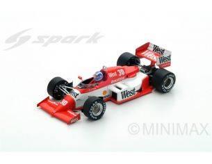 Spark Model S1873 ZAKSPEED 841 J.PALMER 1985 N.30 11th MONACO GP 1:43 Modellino