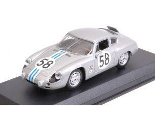 Best Model BT9720 PORSCHE 356 B CARRERA ABARTH N.58 WINNER GT1 CLASS C.CASSEL-D.SESSLAR Modellino