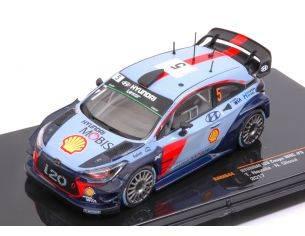 Ixo model RAM644 HYUNDAI i20 WRC N.5 15th MONTE CARLO 2017 T.NEUVILLE-N.GILSOUL 1:43 Modellino