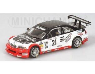 Minichamps PM400042121 BMW M 3 GTR N.21 DAYTONA'04 1:43 Modellino