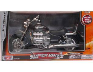 Motormax MTM76252BK HONDA VALKIRIE MOTORCYCLE BLACK 1:6 Modellino