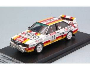 Trofeu TF85NZ11 AUDI QUATTRO A2 N.11 5th RALLY NEW ZEALAND 1985 STEWART/PARKHILL 1:43 Modellino