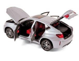 Norev NV183200 BMW X6 M 2015 SILVER 1:18 Modellino