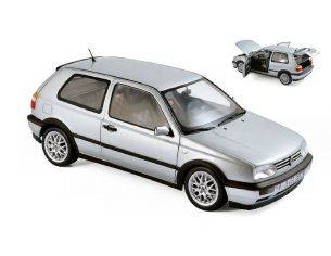 Norev NV188419 VW GOLF GTI 20th ANNIVERSARY 1996 SILVER 1:18 Modellino