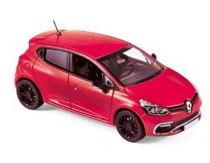 Norev NV517594 RENAULT CLIO R.S.2013 FLAMME RED 1:43 Modellino