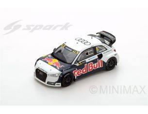 Spark Model S5865 AUDI S1 N.5 WINNER WORLD RX HOCKENHEIM 2016 M.EKSTROM 1:43 Modellino
