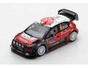 Spark Model S5961 CITROEN C3 WRC N.11 9th MONTE CARLO 2018 C.BREEN-S.MARTIN 1:43 Modellino