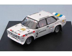 Trofeu TF1430 FIAT 131 ABARTH N.2 4th RALLY OF SWEDEN 1979 M.ALEN-I.KIWIMAKI 1:43 Modellino