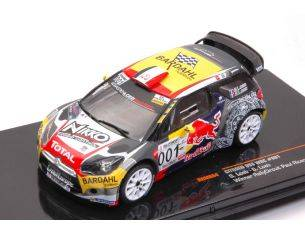 Ixo model RAM654 CITROEN DS3 WRC N.001 WINNER PAUL RICARD 2016 S.LOEB-SEVERINE LOEB 1:43 Modellino