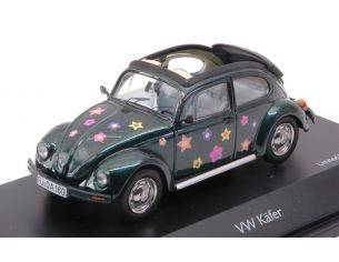 Schuco SH3895 VW KAFER OPEN AIR BLUMEN 1:43 Modellino