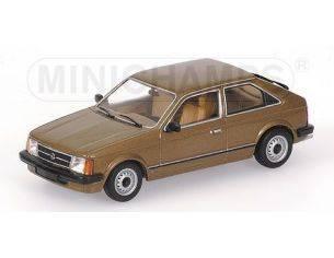 MINICHAMPS 400044100 OPEL KADETT D 1979 BROWN Modellino