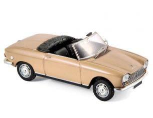 Norev NV472443 PEUGEOT 204 CABRIOLET 1967 BEIGE METALLIC 1:43 Modellino