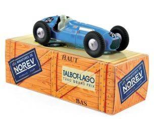 Norev NVCL5811 TALBOT LAGO T26C 1949 N.24 LOUIS ROSIER 1er GRAND PRIX DE BELGIQUE 1:43 Modellino