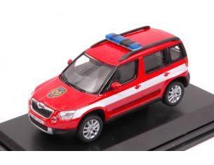 Abrex AB014XL SKODA YETI 2009 FIRE BRIGADE 1:43 Modellino