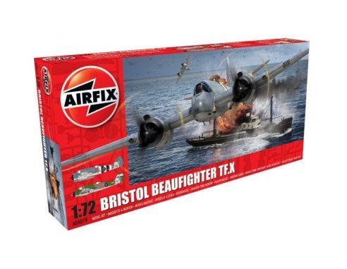 Airfix AX4019 BRISTOL BEAUFIGHTER Mk.X KIT 1:72 Modellino