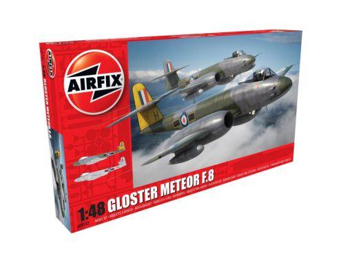 Airfix AX9182 GLOSTER METEOR F8 KIT 1:48 Modellino