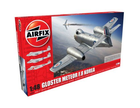 Airfix AX9184 GLOSTER METEOR F8 KIT 1:48 Modellino