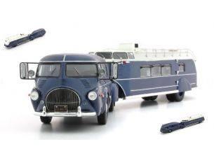 Autocult ATC11009 REO TRUCK CURTIS AEROCAR 1938 METALLIC BLUE 1:43 Modellino