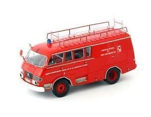 Autocult ATC12002 CITROEN TYP 350 BELPHEGOR FEUERWEHR 1966 1:43 Modellino