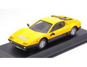 Best Model BT9723 FERRARI 512 BB 1976 BICOLOR YELLOW AND BLACK 1:43 Modellino