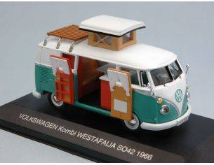Cararama Motorama CAC002 VW WESTFALIA SO42 CAMPER 1966 1:43 Modellino