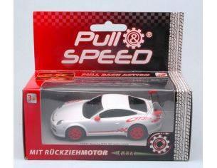 Cararama Motorama CAR17171 PORSCHE GT3 RS WHITE PULL SPEED 1:43 Modellino