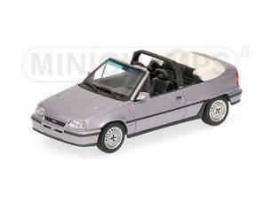 Minichamps PM400045930 OPEL KADETT GSI CABRIO 1989 SILVER 1:43 Modellino