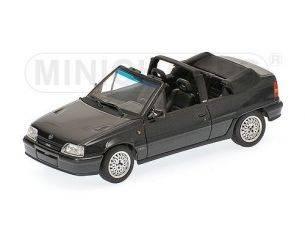 Minichamps PM400045931 OPEL KADETT GSI CABRIO 1989 BLACK 1:43 Modellino