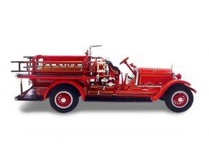 Hot Wheels LDC43006 STUTZ MODEL C 1924 FIRE TRUCK 1:43 Modellino