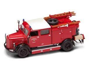 Hot Wheels LDC43013 MERCEDES TLF-50 1950 FIRE TRUCK 1:43 Modellino