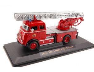 Hot Wheels LDC43016 DAF A 1600 FIRE TRUCK 1:43 Modellino