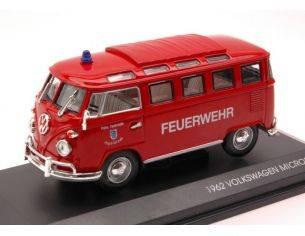 Hot Wheels LDC43211 VW MICROBUS FEUERWEHR 1:43 Modellino
