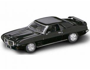 Hot Wheels LDC94238BK PONTIAC FIREBIRD TRANS AM 1969 BLACK 1:43 Modellino