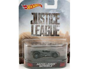 Hot Wheels HWDWJ80 JUSTICE LEAGUE BATMOBILE 1:64 Modellino