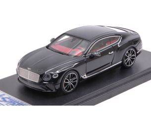 Looksmart LSBT013C BENTLEY NEW CONTINENTAL GT 2018 ONYX BLACK 1:43 Modellino