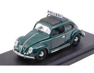 Rio RI4573 VW MAGGIOLINO POLIZEI 1953 1:43 Modellino