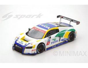 Spark Model S12SA001 AUDI R8 LMS CUP N.1 CHAMPION 2016 ALEX YOONG 1:12 Modellino